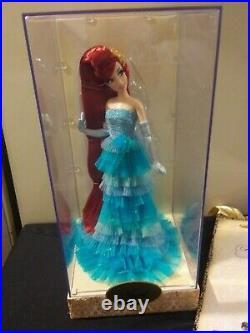 Disney Princess Ariel Little Mermaid Limited Edition Designer Doll with bag