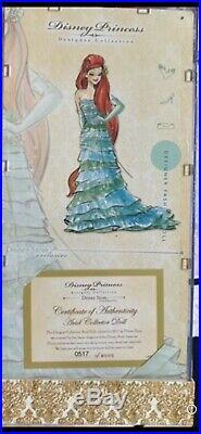 Disney Princess Ariel the little mermaid limited edition designer LE doll