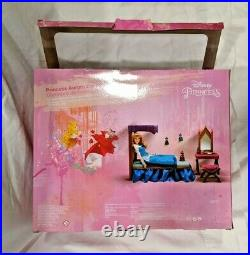 Disney Princess Aurora Bedroom Playset NIB IOB Rare Sleeping Beauty NEW Toys