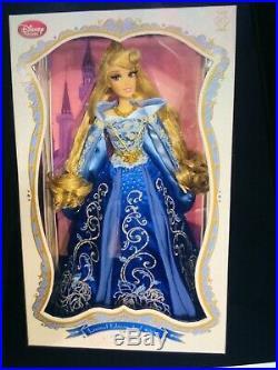 Disney Princess Aurora Blue Dress 17 Limited Edition Doll 1 of 5000
