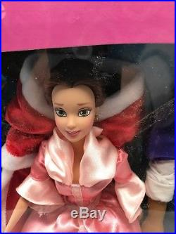 Disney Princess Belle Beauty and The Beast Transforms into Prince Doll Set NEW