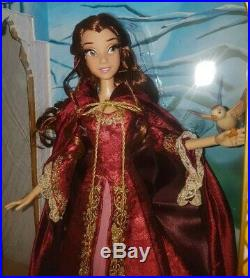 Disney Princess Belle Beauty & the Beast 17 Limited Edition Doll LE 5000