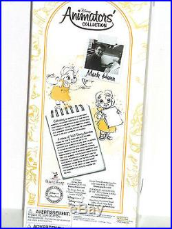Disney Princess Belle Doll Animators Collection Gold Dress Beauty Mark Hemn