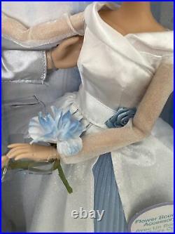 Disney Princess CINDERELLA AND PRINCE CHARMING WEDDING DOLL SET NEW NIB RARE