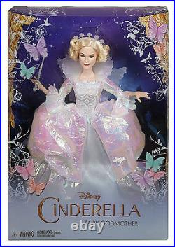 Disney Princess Cinderella Fairy Godmother Doll Brand New & Boxed