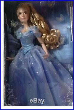 Disney Princess Cinderella Limited Edition Doll Live Action Film 17'' LE 4000