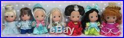 Disney Princess Cinderella Precious Moments Mini Set of Dolls NEW