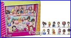 Disney Princess Comics Minis Comfy Squad Collection Pack, 12 Dolls Collectible