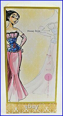 Disney Princess Desginer Collection Designer Fashion Doll Mulan 4329/6000 MISB