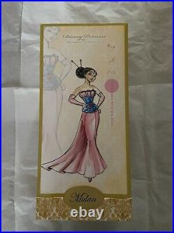 Disney Princess Designer Collection Mulan Fashion Doll Limited Edition 6000