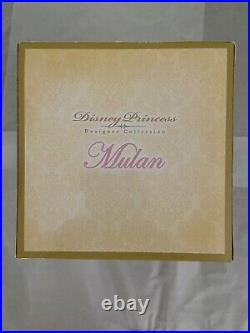 Disney Princess Designer Collection Mulan Fashion Doll Limited Edition 6000 NEW