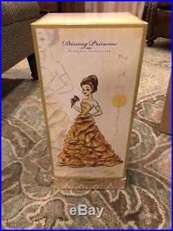 Disney Princess Designer Doll Belle Limited to 8000 Disney Store