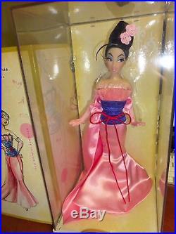 Disney Princess Designer Doll MULAN Limited Edition