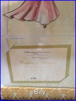 Disney Princess Designer Dolls Limited Edition Mulan Brand New #4186/6000 Rare