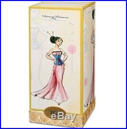 Disney Princess Designer Dolls Limited Edition Mulan Brand New #4/6000 Rare