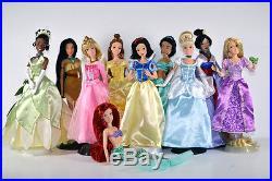 Disney Princess Doll, Frozen Elsa/Anna/Rapunzel/Tiana/Jasmine/Pocahontas/Mulan