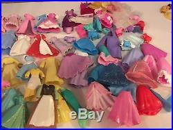 Disney Princess Dolls magiclip Polly PocketBundle Princes Castles Accessories+