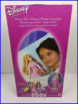 Disney Princess Dream Time Sleeping Beauty Doll 2002 Mattel 56775 Very Rare NRFB