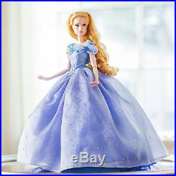 Disney Princess Limited Edition Collector Cinderella Live Action Doll 17 in NEW