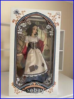 Disney Princess Limited Edition Doll Snow White Rags 17 NIB 2017 LE6500
