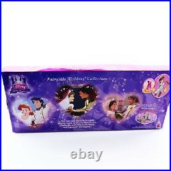Disney Princess Little Kingdom Ariel Rapunzel Mini Dolls Wedding Toys Girls 3 4