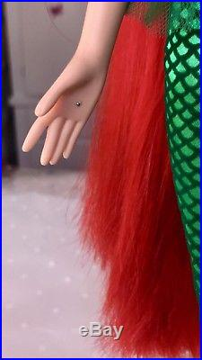 Disney Princess Little Mermaid Singing Ariel Doll 17 H