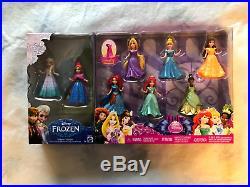 Disney Princess MAGICLIP Dolls 8 Pack Gift Set