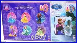 Disney Princess Magic Clip 8 Dolls Set Frozen Elsa Anna Cinderella Mattel