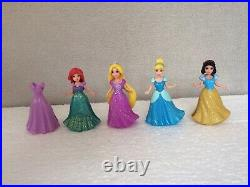 Disney Princess Magiclip Doll Castle Palace Cinderella Ariel Snow White Rapunzel