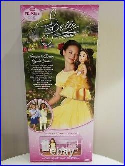 Disney Princess & Me 18 Belle Doll First Edition MINT