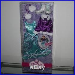 Disney Princess & Me Ariel First Edition Doll & 4 Outfits