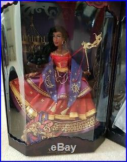 Disney Princess Midnight MASQUERADE Designer Doll Complete Full Set of 5 Limited