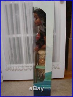 Disney Princess Moana Life Size NEW 32 My Size Barbie Type Doll Poseable Jakks