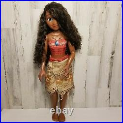Disney Princess Moana My Size Doll 32 inches Poseable