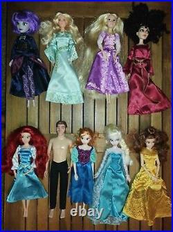 Disney Princess Mother Gothel Beloved Aurora Prince Hans Haunted Mansion Dolls