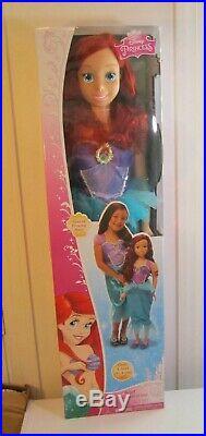 Disney Princess My Size Ariel Fairytale Friend Doll 3 Feet Tall
