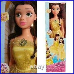 Disney Princess My Size Belle 38 Life Size Beauty and the Beast Doll NEW 2017