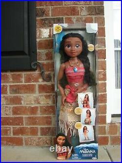 Disney Princess My Size Moana 32 Life Size Barbie Type Doll NEW 2018 EXCLUSIVE