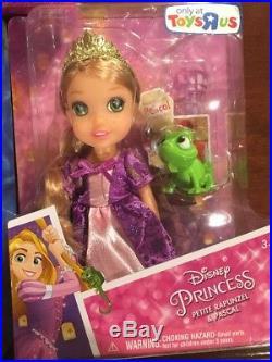 Disney Princess Petite Toddler Dolls COMPLETE SET Of 7 Toys R Us Exclusive NIB