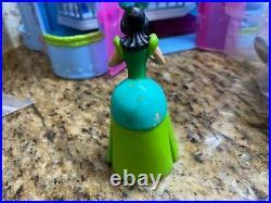 Disney Princess Polly Pocket, Magiclip, magi clip Cinderella Castle, figures
