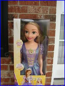 Disney Princess Rapunzel 38 Life Size Tangled My Size Barbie Type Doll NEW