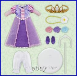 Disney Princess Rapunzel Doll Figure Soft hair Cute Gift Q Posket Doll Limited