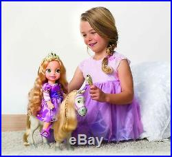 Disney Princess Rapunzel and Maximus Doll