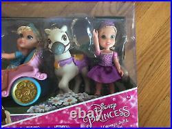 Disney Princess Royal Carriage Doll & Pony Gift Set Petite Doll Cinderella Belle