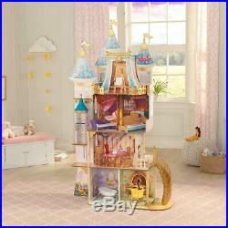 Disney Princess Royal Celebration Dollhouse Kids Doll House Play Toy Girl Gift