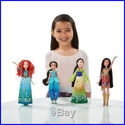 Disney Princess Shimmering Dreams Collection 11 Doll Set with Shoes Outfits Gowns