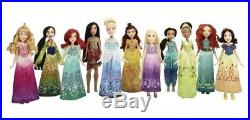 Disney Princess Shimmering Dreams Collection (11 Dolls Brand New and Unopened)
