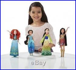 Disney Princess Shimmering Dreams Collection Girls Dolls 11 Pack Play Set