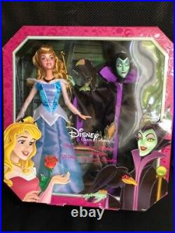 Disney Princess Sleeping Beauty Maleficent Dolls 2013 Signature Collection