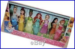 Disney Princess Sparkling Styles 7 Doll Gift Set